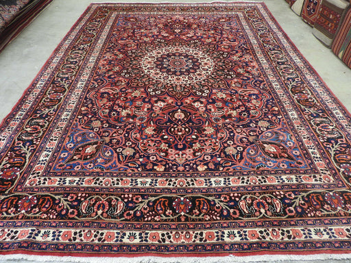Persian Hand Knotted Mahallat Rug Size: 380 x 271cm