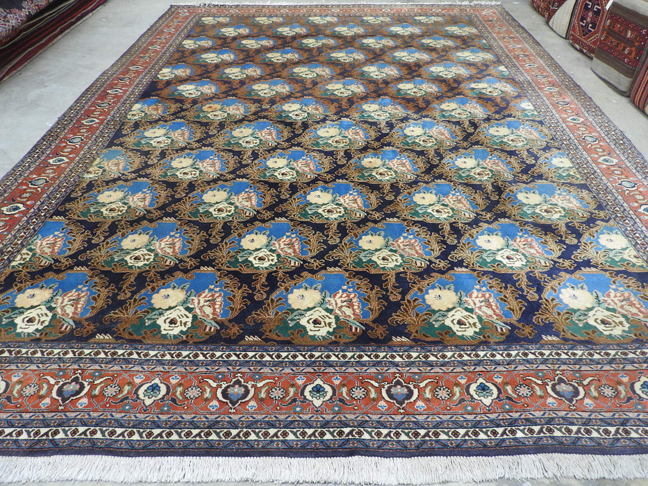 Persian Hand Knotted Babak City Rug Size: 387 x 285cm-Persian Rug-Rugs Direct