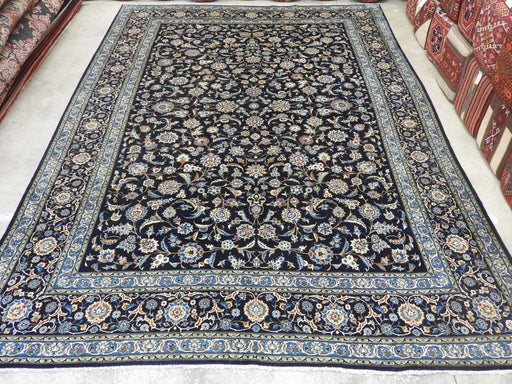 Persian Hand Knotted Kashan Rug Size: 433 x 294cm