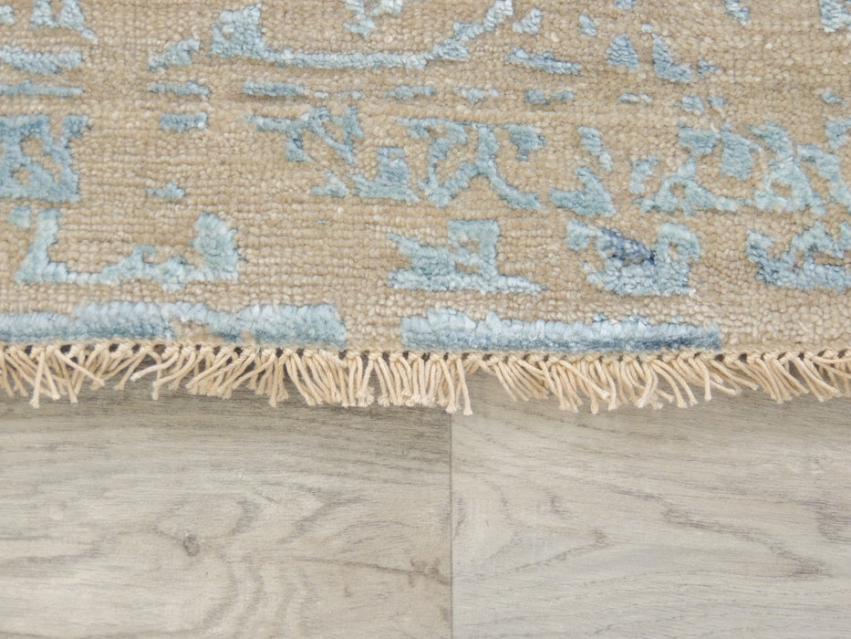 Spectacular Bamboo Silk Hand Knotted Erased Design Size: 240 x 170cm