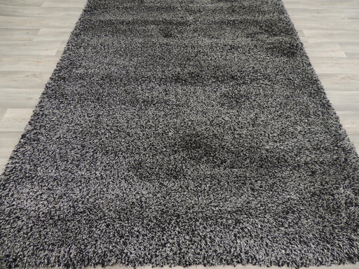 Turkish Dark Grey Shaggy Rug