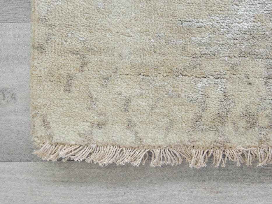 Spectacular Bamboo Silk Hand Knotted Erased Design Size: 240 x 170cm ( 5.6' x 8')-Bamboo Silk-Rugs Direct