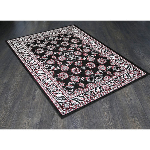 Traditional Black Turkish Rug Size: 240 x 330cm