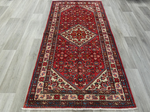 Persian Hand Knotted Hamedan Rug Size: 217 x 110cm