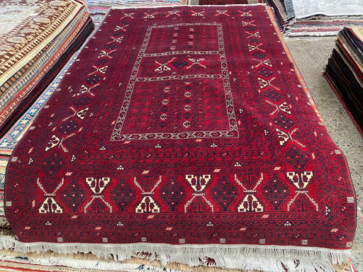 Afghan Hand Knotted Khawje Roshnai Rug Size: 160cm x 260cm