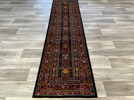Authentic Persian Hand Knotted Gabbeh Runner Size: 298 x 81cm