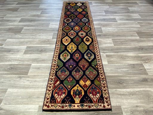 Authentic Persian Hand Knotted Gabbeh Runner Size: 308 x 83cm