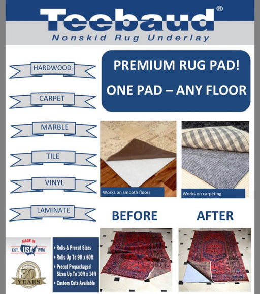 High Performance Premium Rug-Grip Underlay 200cm Wide-Rug Grip-Rugs Direct
