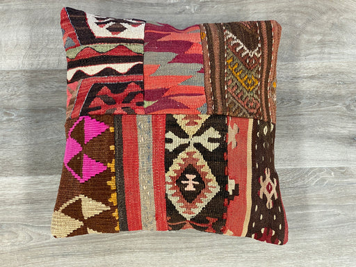 Turkish Hand Made Vintage Kilim Cushion