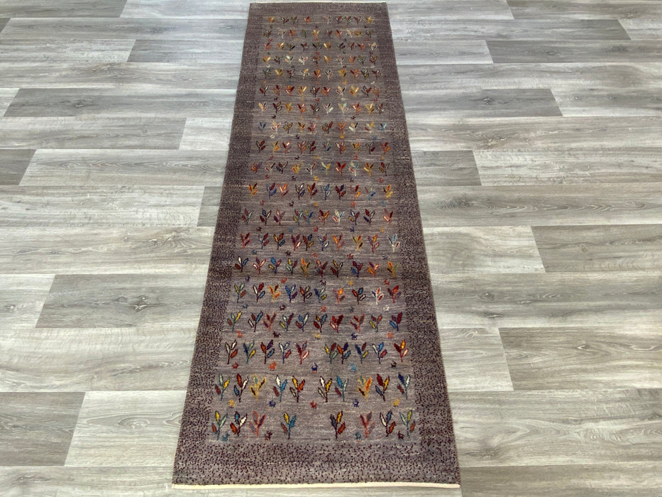Authentic Persian Hand Knotted Gabbeh Runner Size: 241 x 76cm