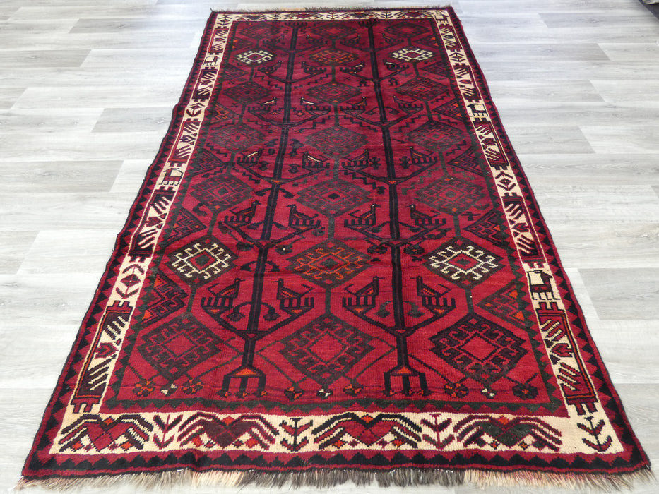 Persian Hand Knotted Luri Rug Size: 267 x 150cm-Luri Rug-Rugs Direct