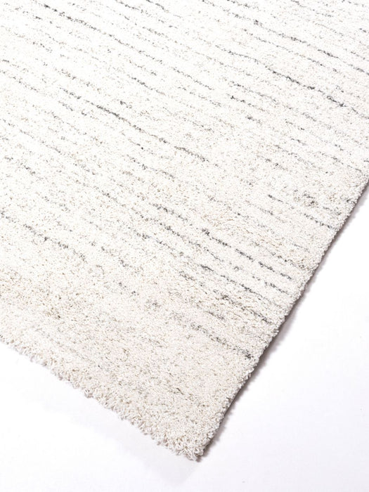 Thick Modern White Abrash Design Rug-Modern Rug-Rugs Direct