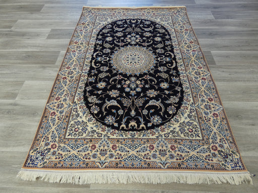 Persian Hand Knotted Super fine Nain Rug Size: 196 x 135cm