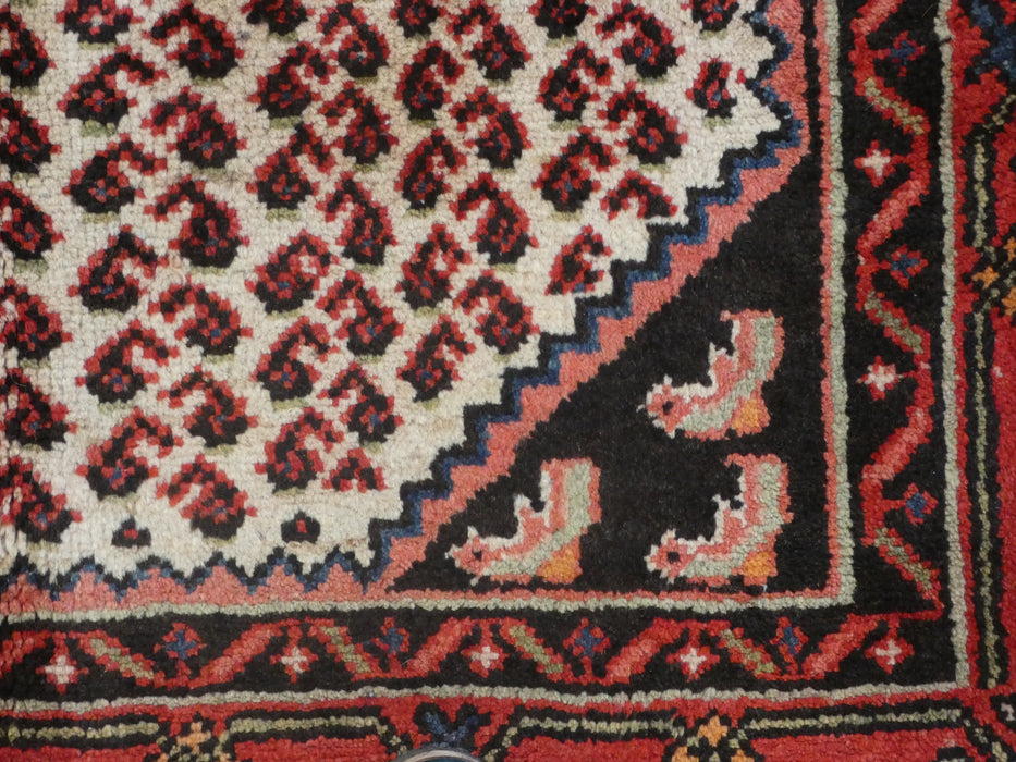 Persian Hand Knotted Hamedan Rug Size: 108 x 155cm-Persian Rug-Rugs Direct