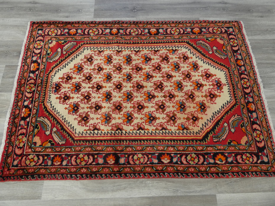 Persian Hand Knotted Shahsavan Rug Size: 155 x 107cm-Persian Rug-Rugs Direct