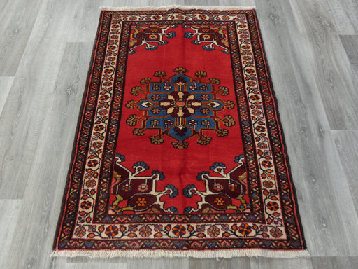 Persian Hand Knotted Tafresh Rug Size: 83 x 120cm