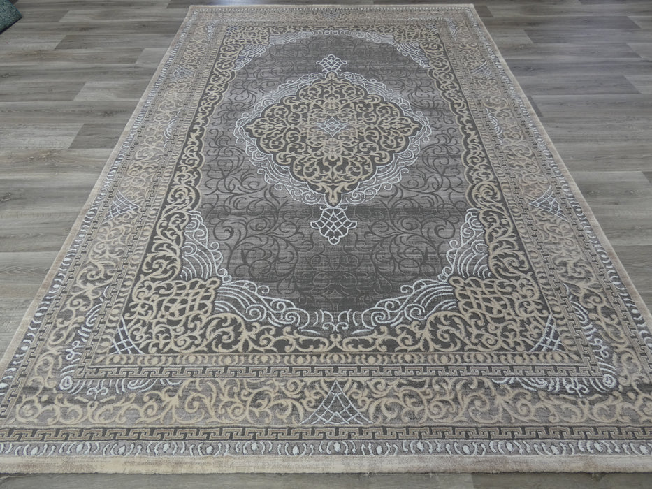 Turkish Traditional Embossed Design Rug-Modern Rug-Rugs Direct