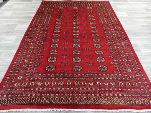 Hand Knotted Bokhara Rug Size: 296 x 206cm