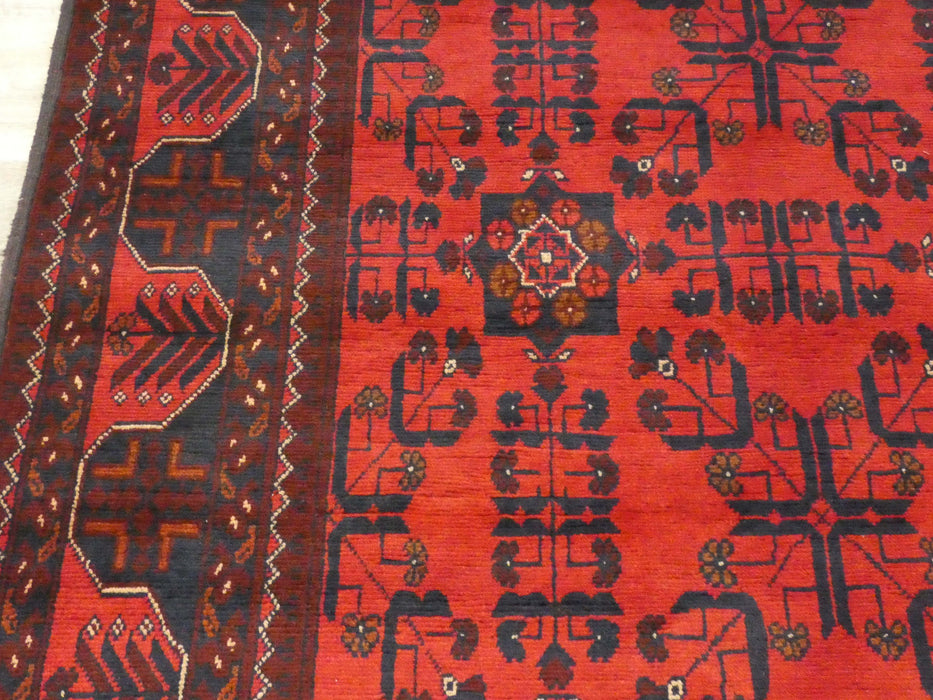 Afghan Hand Knotted Khal Mohammadi Rug Size: 290 x 196cm