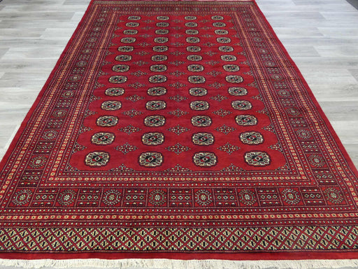 Hand Knotted Bokhara Rug Size: 296 x 212cm