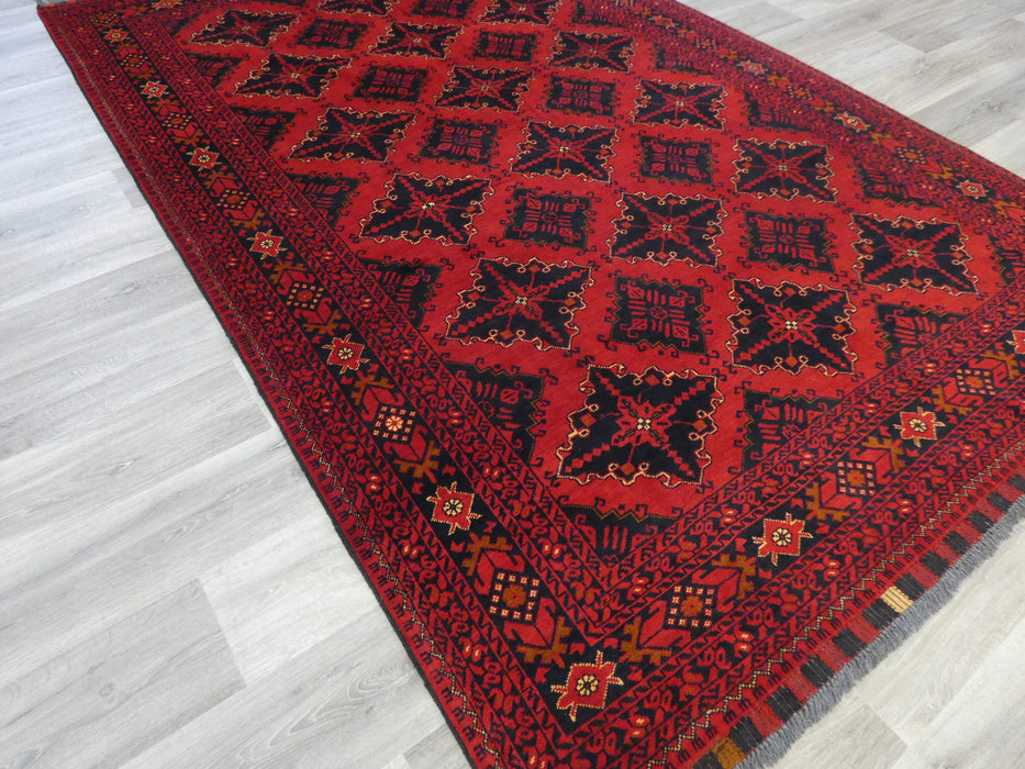 Afghan Hand Knotted Khal Mohammadi Rug Size: 293 x 195cm