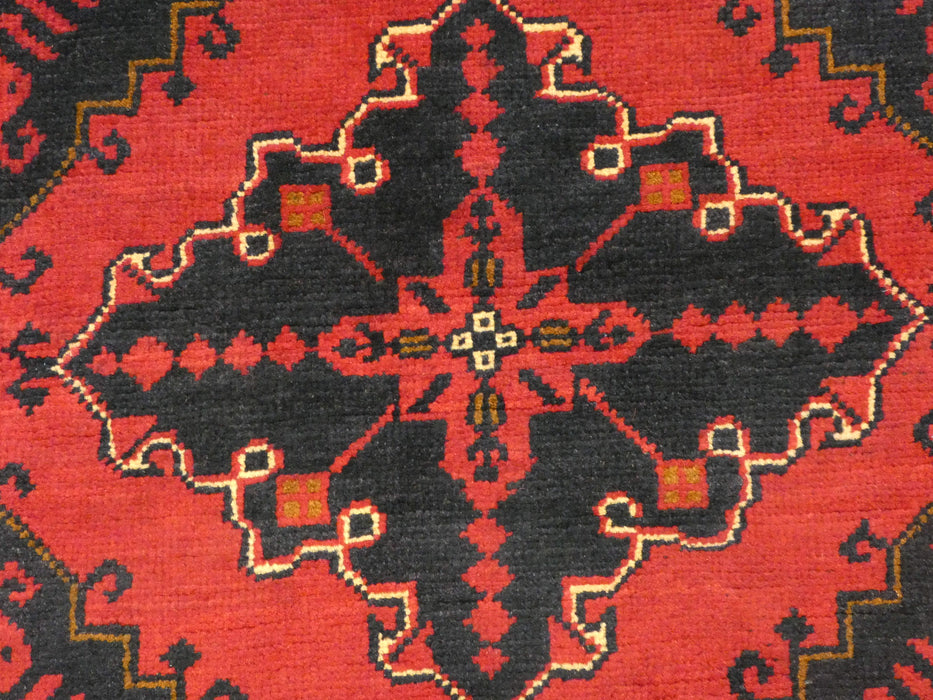 Afghan Hand Knotted Khal Mohammadi Rug Size: 293 x 195cm-Afghan Rug-Rugs Direct