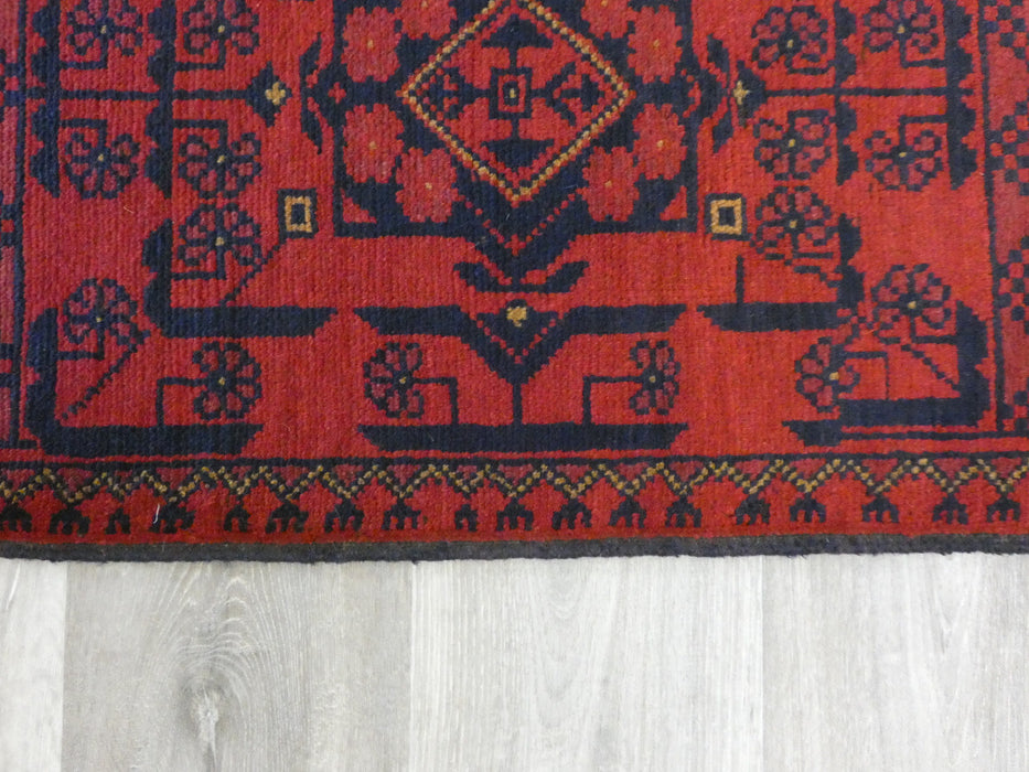 Afghan Hand Knotted Khal Mohammadi Doormat Size: 95 x 50cm