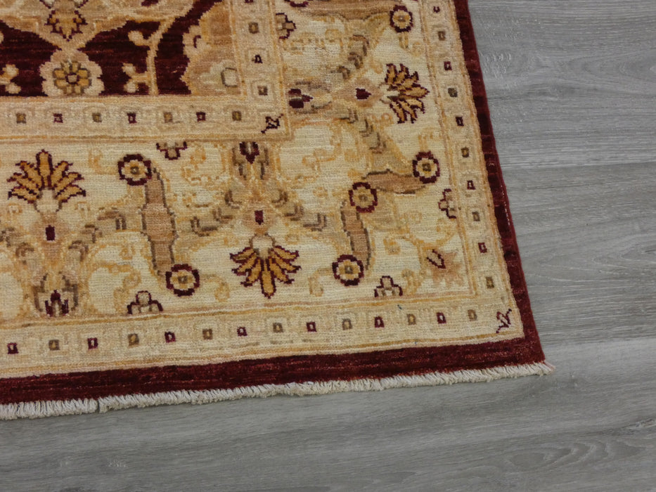 Afghan Hand Knotted Choubi Rug Size: 177 x 264cm