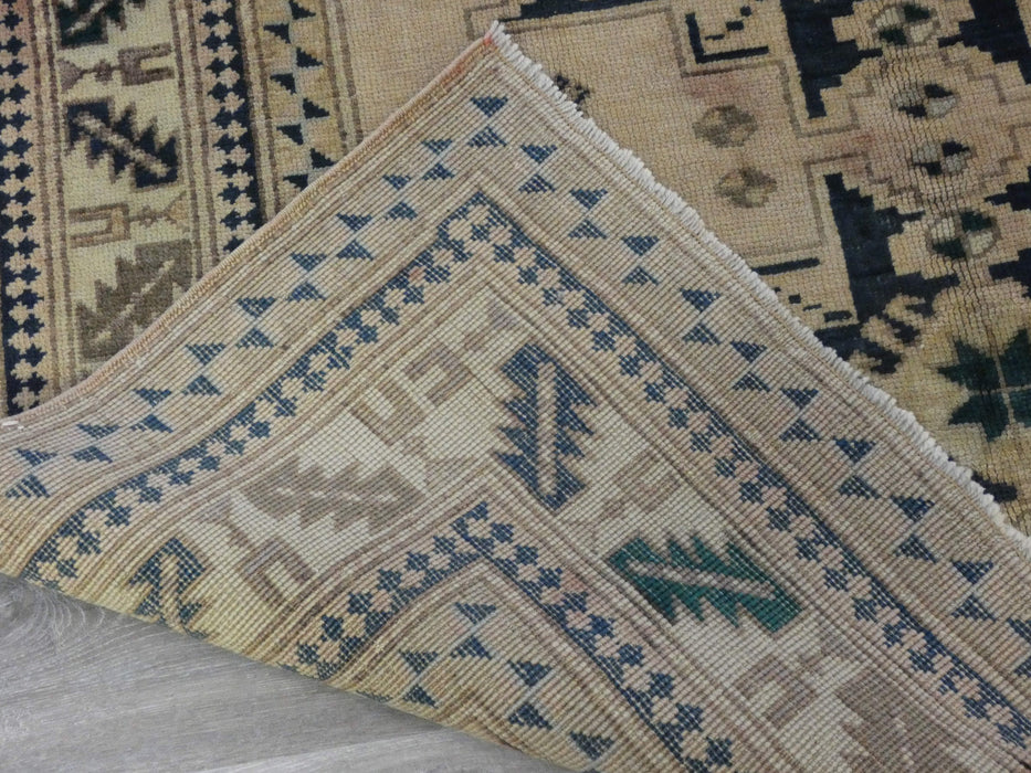 Vintage Anatolian hand knotted Rug Size: 212 x 140cm