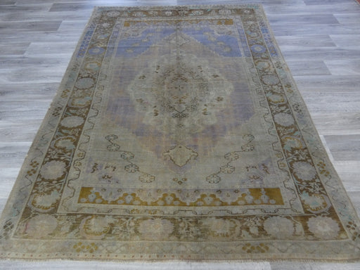 Vintage Anatolian hand knotted Rug Size: 260 x 197cm