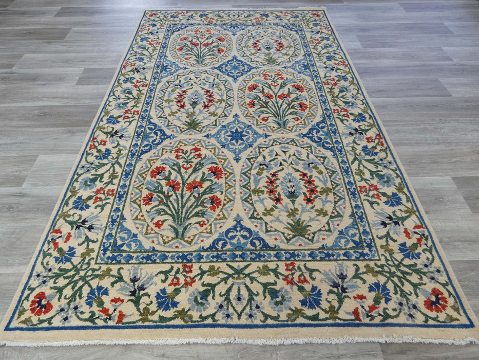 Afghan Hand Knotted Choubi Rug Size: 253 x 157cm