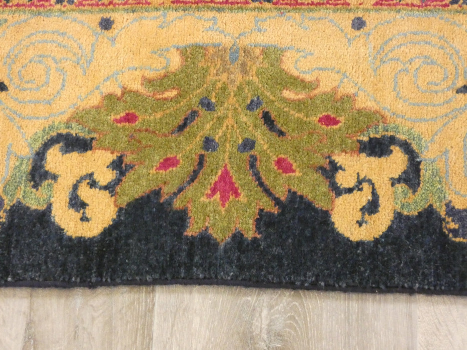 Afghan Hand Knotted Choubi Rug Size: 373 x 274cm