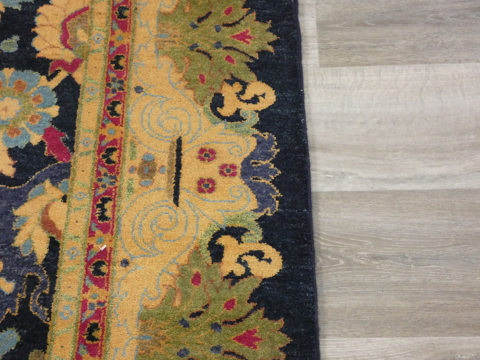 Afghan Hand Knotted Choubi Rug Size: 373 x 274cm-Afghan Rug-Rugs Direct