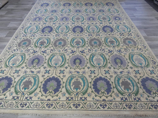 Afghan Hand Knotted Choubi Rug Size: 346 x 272cm-Afghan Rug-Rugs Direct
