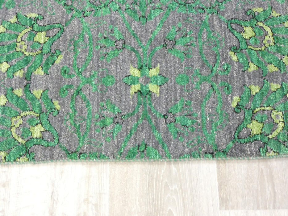 Afghan Hand Knotted Choubi Rug Size: 372 x 278cm-Afghan Rug-Rugs Direct
