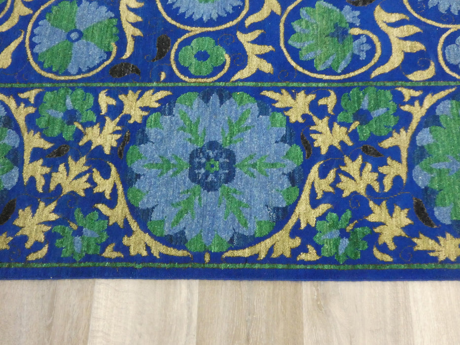 Afghan Hand Knotted Choubi Rug Size: 278 x 188cm-Afghan Rug-Rugs Direct
