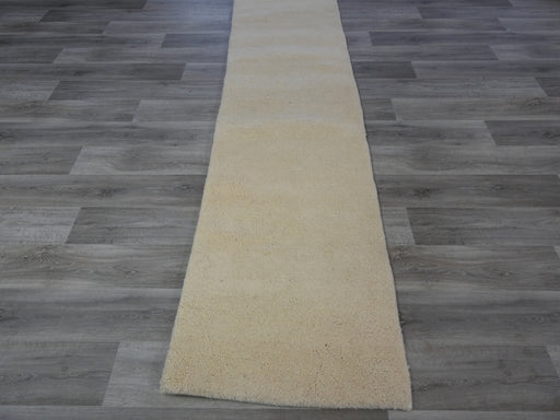 Hand Knotted Modern Moroccan hallway Runner Size: 85 x 318cm