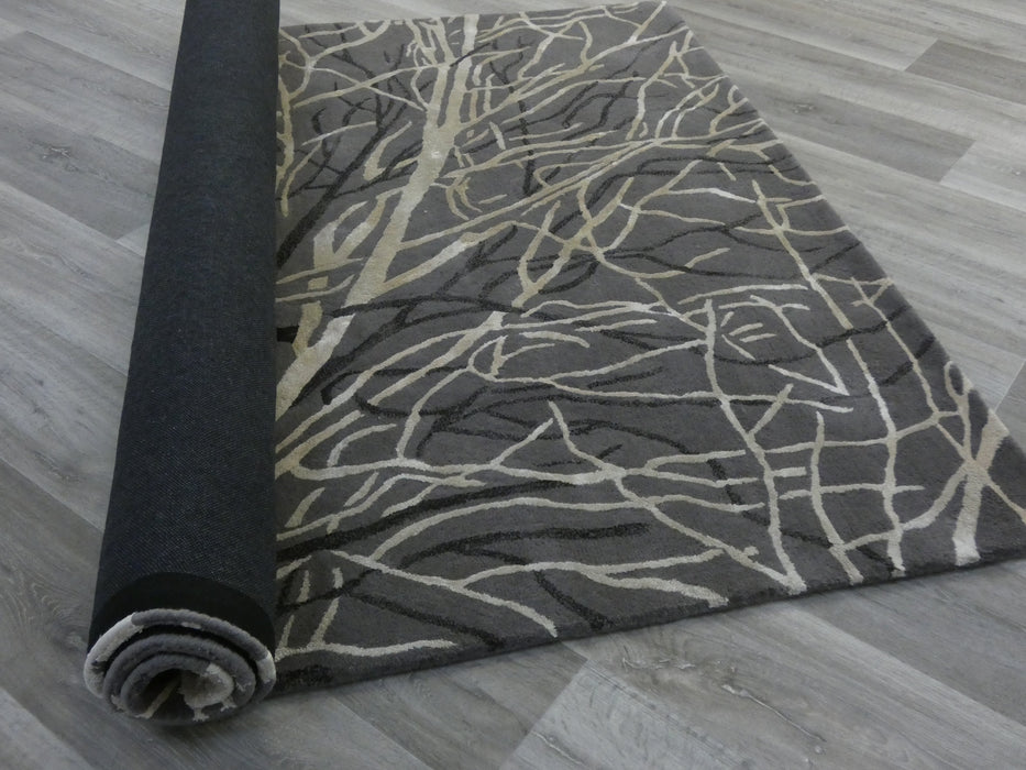 Luxury Wool & Viscose Designer Rug-Modern Rug-Rugs Direct