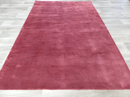 Hand Loomed Bamboo Silk Look Rug