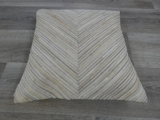 Cowhide Patchwork Cushion