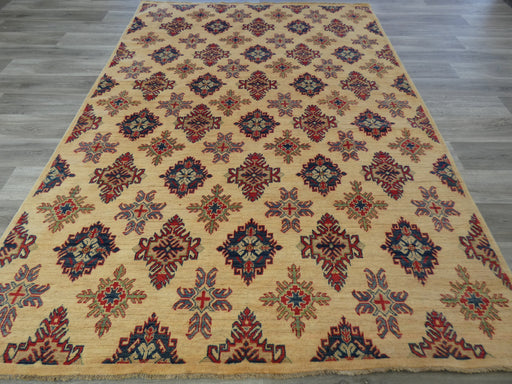 Afghan Hand Knotted Kazak Rug Size: 284 x 202cm