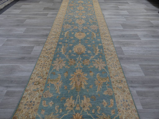 Afghan Hand Knotted Super Fine Choubi Runner Size: 529 x 122cm
