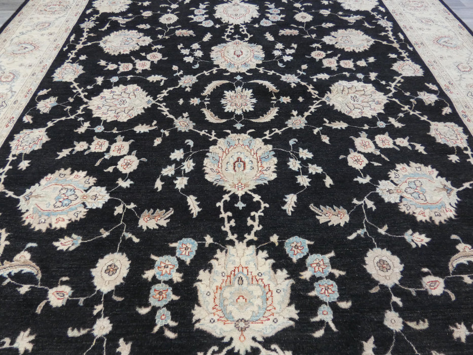 Afghan Hand Knotted Super Fine Choubi Rug Size: 424 x 302cm
