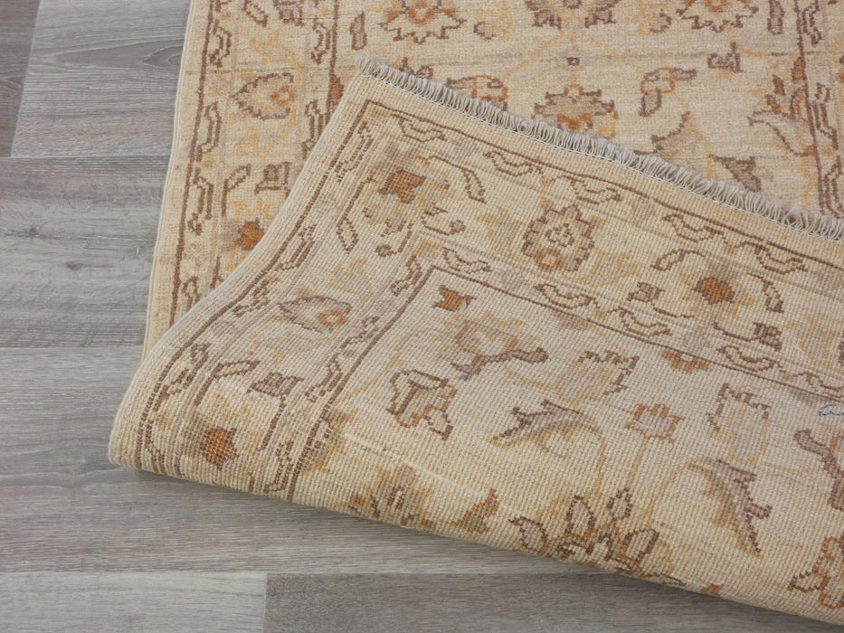 Afghan Hand Knotted Super Fine Choubi Runner Size: 350 x 70cm-Afghan Runner-Rugs Direct