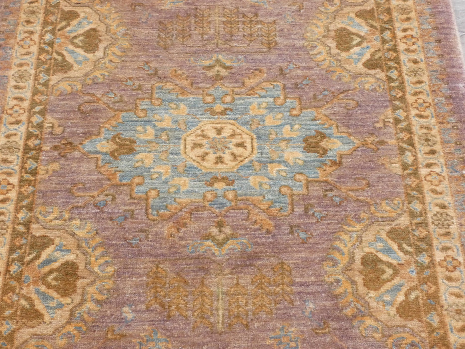 Afghan Hand Knotted Choubi Hallway Runner Size: 245 x 78cm-Afghan Runner-Rugs Direct