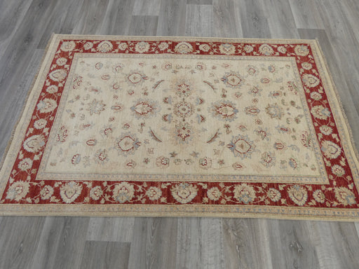 Afghan Hand Knotted Choubi Rug Size: 180 x 115cm