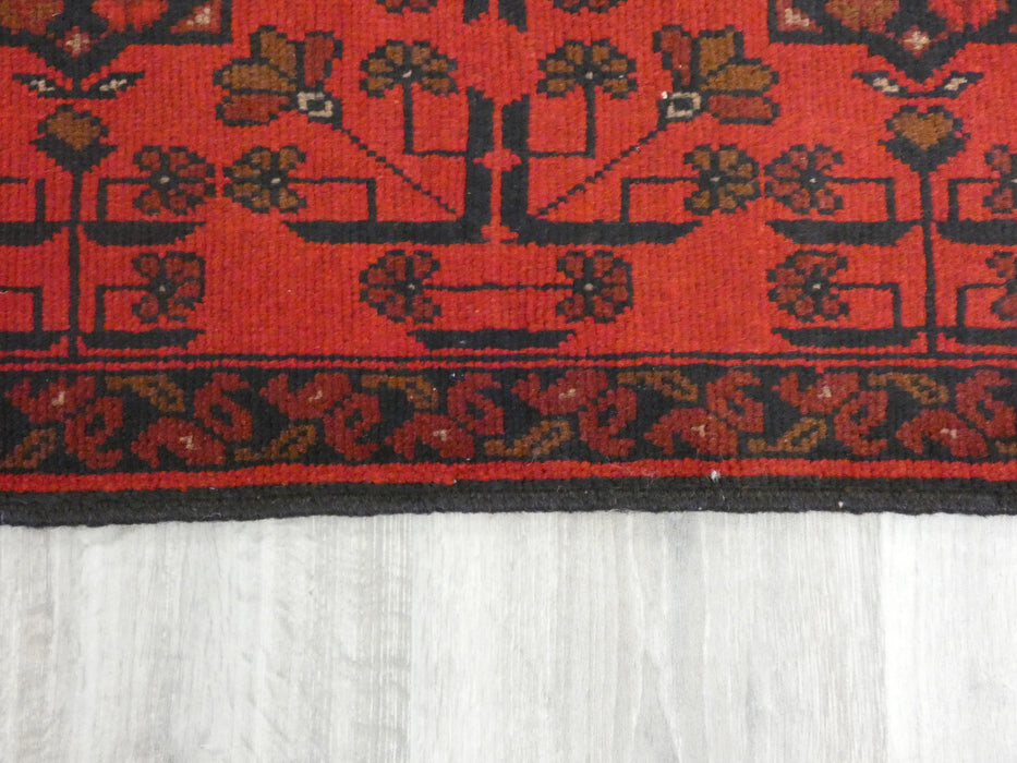 Afghan Hand Knotted Khal Mohammadi Doormat Size: 98 x 51cm
