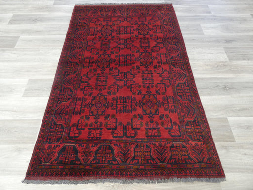 Afghan Hand Knotted Khal Mohammadi Rug Size: 198 x 127cm