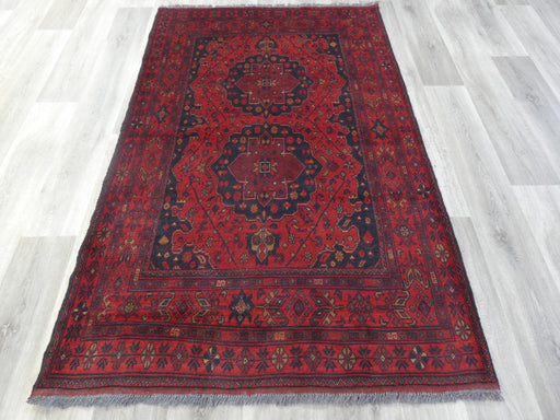Afghan Hand Knotted Khal Mohammadi Rug Size: 192 x 125cm