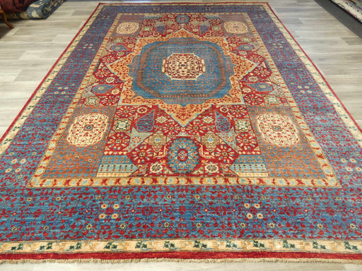 Afghan Hand Knotted Choubi Rug Size: 358 x 267cm